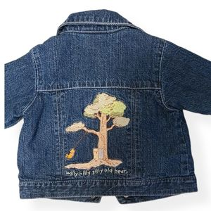 Disney store Winnie the Pooh denim jean  jacket